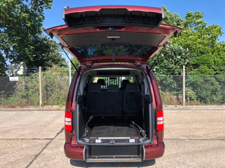 Volkswagen Caddy Maxi 2014 C20 LIFE TDI wheelchair & scooter accessible vehicle WAV 6