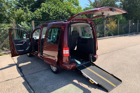 Volkswagen Caddy 2015 C20 LIFE TDI wheelchair accessible vehicle WAV