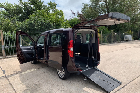 Fiat Doblo 2012 MYLIFE wheelchair accessible vehicle WAV