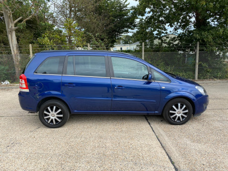 Vauxhall Zafira 2011 EXCLUSIV wheelchair & scooter accessible vehicle WAV 22