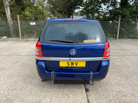 Vauxhall Zafira 2011 EXCLUSIV wheelchair & scooter accessible vehicle WAV 4