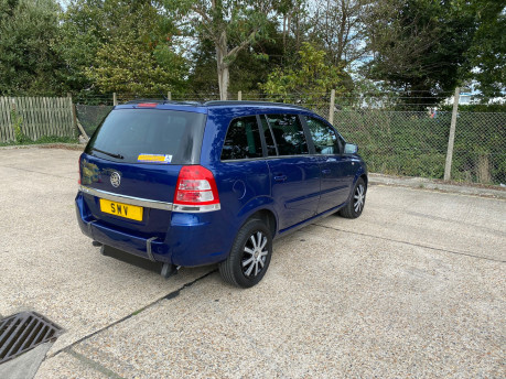 Vauxhall Zafira 2011 EXCLUSIV wheelchair & scooter accessible vehicle WAV 24