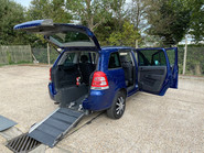 Vauxhall Zafira 2011 EXCLUSIV wheelchair & scooter accessible vehicle WAV 19