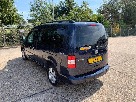 Volkswagen Caddy Maxi 2014 C20 LIFE TDI wheelchair & scooter accessible vehicle WAV 16