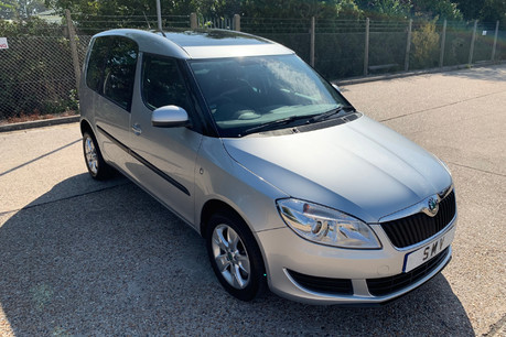 Skoda Roomster 2011 SE TSI DSG wheelchair accessible vehicle WAV