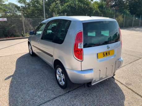 Skoda Roomster 2011 SE TSI DSG wheelchair accessible vehicle WAV 18