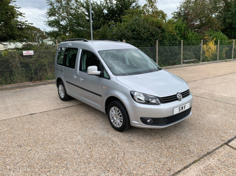 Volkswagen Caddy Life 2016 C20 LIFE TDI wheelchair & scooter accessible vehicle WAV 13