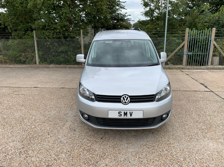 Volkswagen Caddy Life 2016 C20 LIFE TDI wheelchair & scooter accessible vehicle WAV