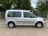 Volkswagen Caddy Life 2016 C20 LIFE TDI wheelchair & scooter accessible vehicle WAV 15