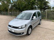 Volkswagen Caddy Life 2016 C20 LIFE TDI wheelchair & scooter accessible vehicle WAV 2