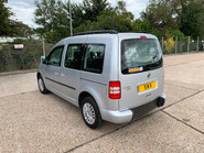 Volkswagen Caddy Life 2016 C20 LIFE TDI wheelchair & scooter accessible vehicle WAV 14