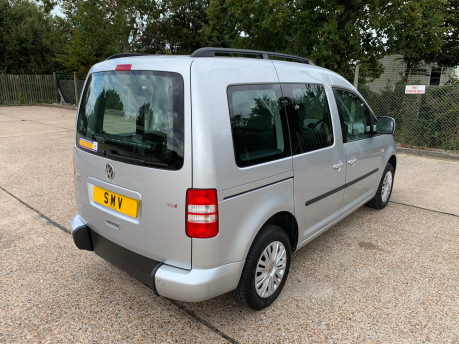Volkswagen Caddy Life 2016 C20 LIFE TDI wheelchair & scooter accessible vehicle WAV 16