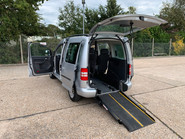 Volkswagen Caddy Life 2016 C20 LIFE TDI wheelchair & scooter accessible vehicle WAV 12