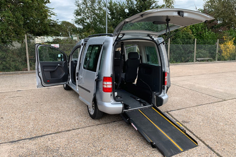 Volkswagen Caddy Life 2016 C20 LIFE TDI wheelchair accessible vehicle WAV