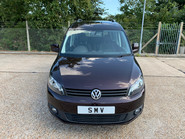 Volkswagen Caddy Life 2014 C20 LIFE TDI wheelchair & scooter accessible vehicle WAV 12