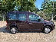 Volkswagen Caddy Life 2014 C20 LIFE TDI wheelchair & scooter accessible vehicle WAV 14