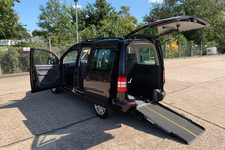 Volkswagen Caddy Life 2014 C20 LIFE TDI wheelchair accessible vehicle WAV