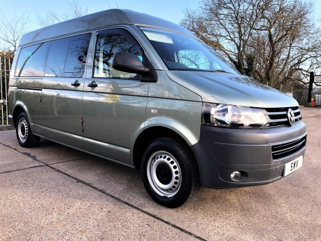 Volkswagen Transporter T30 TDI Wheelchair Accessible Vehicle WAV