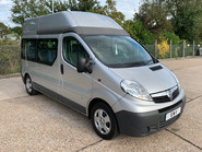 Vauxhall Vivaro 2012 2900 CDTI H/R wheelchair accessible vehicle WAV 17