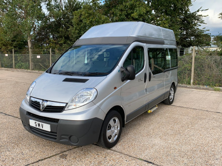 Vauxhall Vivaro 2012 2900 CDTI H/R wheelchair accessible vehicle WAV 2