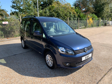 Volkswagen Caddy Life 2014 C20 LIFE TDI wheelchair & scooter accessible vehicle WAV 18