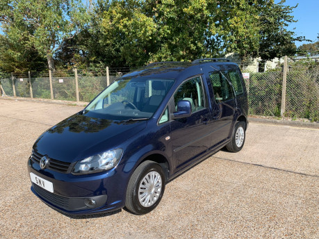 Volkswagen Caddy Life 2014 C20 LIFE TDI wheelchair & scooter accessible vehicle WAV 1