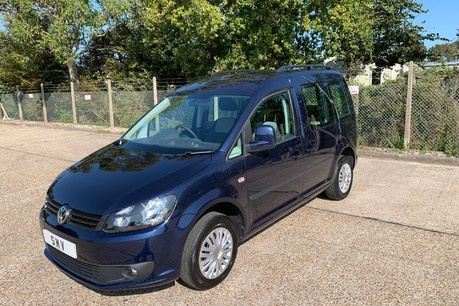 Volkswagen Caddy Life 2014 C20 LIFE TDI wheelchair & scooter accessible vehicle WAV