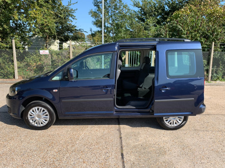 Volkswagen Caddy Life 2014 C20 LIFE TDI wheelchair & scooter accessible vehicle WAV 17