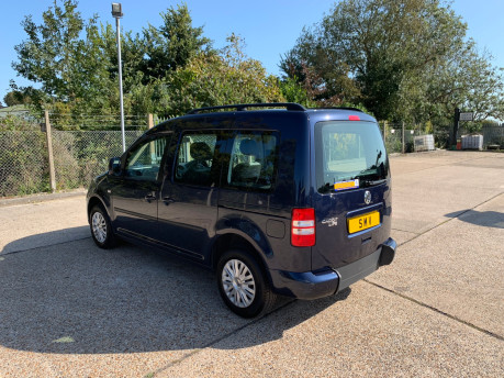 Volkswagen Caddy Life 2014 C20 LIFE TDI wheelchair & scooter accessible vehicle WAV 19