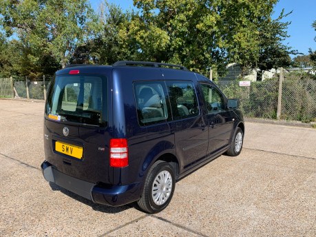 Volkswagen Caddy Life 2014 C20 LIFE TDI wheelchair & scooter accessible vehicle WAV 21