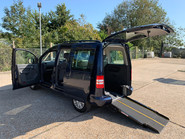 Volkswagen Caddy Life 2014 C20 LIFE TDI wheelchair & scooter accessible vehicle WAV 24