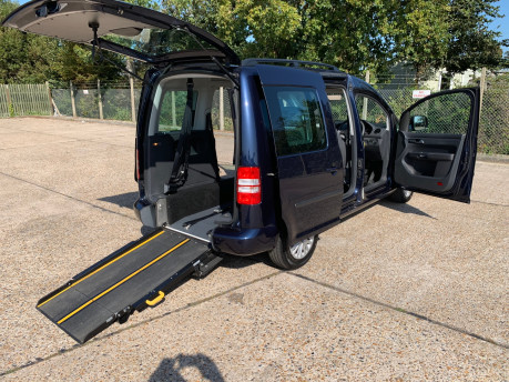 Volkswagen Caddy Life 2014 C20 LIFE TDI wheelchair & scooter accessible vehicle WAV 23