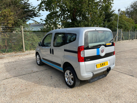 Fiat Qubo 2014 MULTIJET MYLIFE wheelchair & scooter accessible vehicle WAV 24