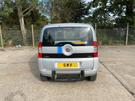 Fiat Qubo 2014 MULTIJET MYLIFE wheelchair & scooter accessible vehicle WAV 4