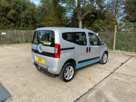 Fiat Qubo 2014 MULTIJET MYLIFE wheelchair & scooter accessible vehicle WAV 27
