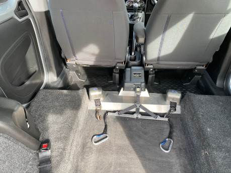 Fiat Qubo 2014 MULTIJET MYLIFE wheelchair & scooter accessible vehicle WAV 9
