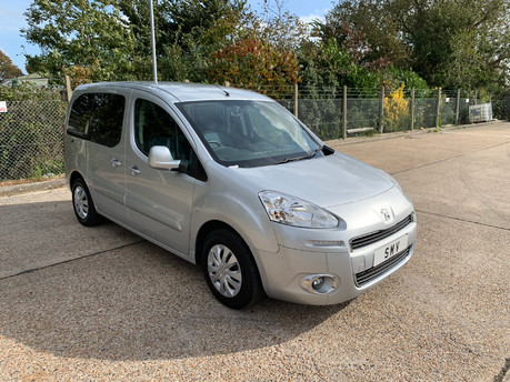 Peugeot Partner 2014 TEPEE S wheelchair & scooter accessible vehicle WAV