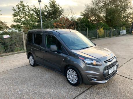 Ford Tourneo Connect 2017 ZETEC TDCI S/S wheelchair & scooter accessible vehicle WAV 1