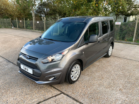 Ford Tourneo Connect 2017 ZETEC TDCI S/S wheelchair & scooter accessible vehicle WAV 20