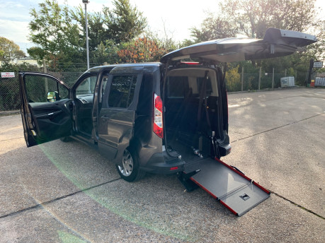 Ford Tourneo Connect 2017 ZETEC TDCI S/S wheelchair & scooter accessible vehicle WAV 2