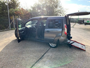Ford Tourneo Connect 2017 ZETEC TDCI S/S wheelchair & scooter accessible vehicle WAV 25