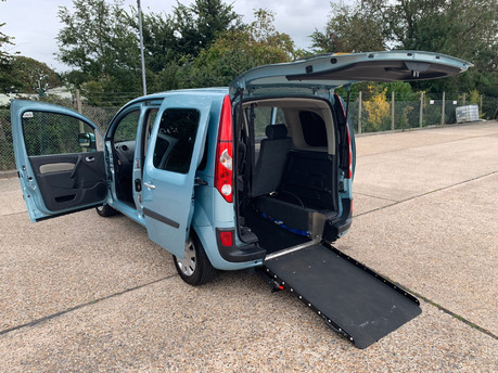 Renault Kangoo 2012 EXPRESSION 16V wheelchair accessible vehicle WAV