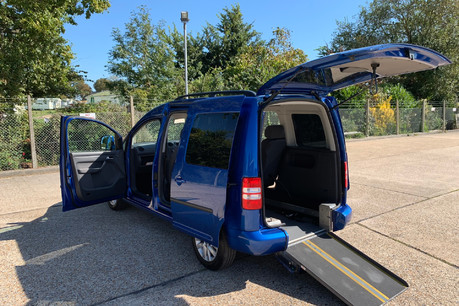 Volkswagen Caddy Life 2012 C20 LIFE TDI wheelchair accessible vehicle WAV