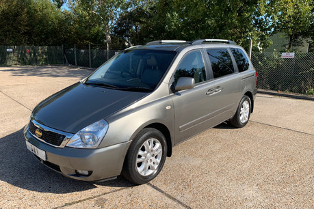 Kia Sedona 2010 3 CRDI wheelchair & scooter accessible vehicle WAV