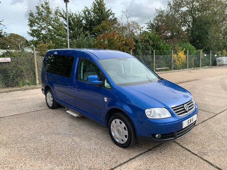 Volkswagen Caddy Maxi Life 2010 LIFE TDI wheelchair & scooter accessible vehicle WAV