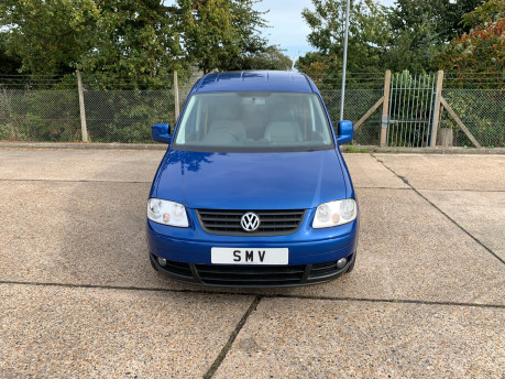 Volkswagen Caddy Maxi Life 2010 LIFE TDI wheelchair & scooter accessible vehicle WAV 24