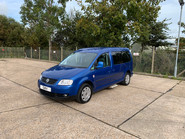 Volkswagen Caddy Maxi Life 2010 LIFE TDI wheelchair & scooter accessible vehicle WAV 2