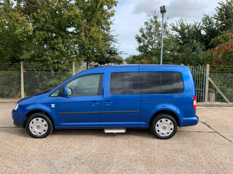 Volkswagen Caddy Maxi Life 2010 LIFE TDI wheelchair & scooter accessible vehicle WAV 19