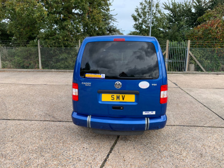 Volkswagen Caddy Maxi Life 2010 LIFE TDI wheelchair & scooter accessible vehicle WAV 3