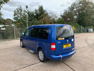 Volkswagen Caddy Maxi Life 2010 LIFE TDI wheelchair & scooter accessible vehicle WAV 25